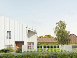 Domy Sąsiedzkie pod Warszawą projektu pracowni exexe