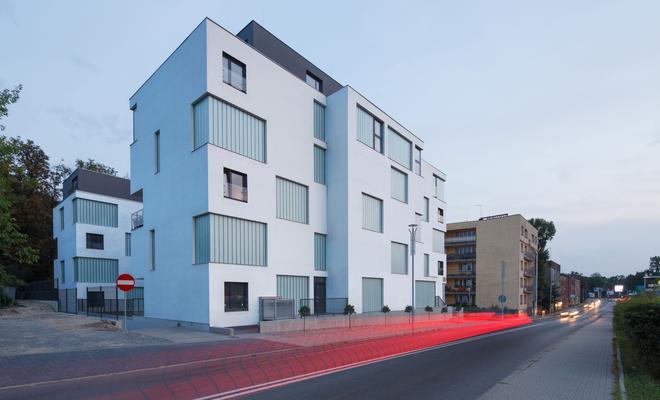 Apartamentowce Złota 19 w Katowicach