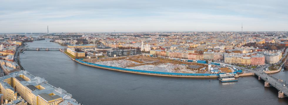 Konkurs na projekt 17-hektarowego parku w Sankt Petersburgu