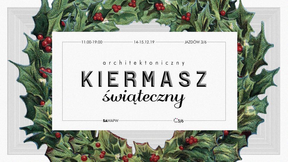 Prezent od architekta – świąteczny kiermasz na Jazdowie