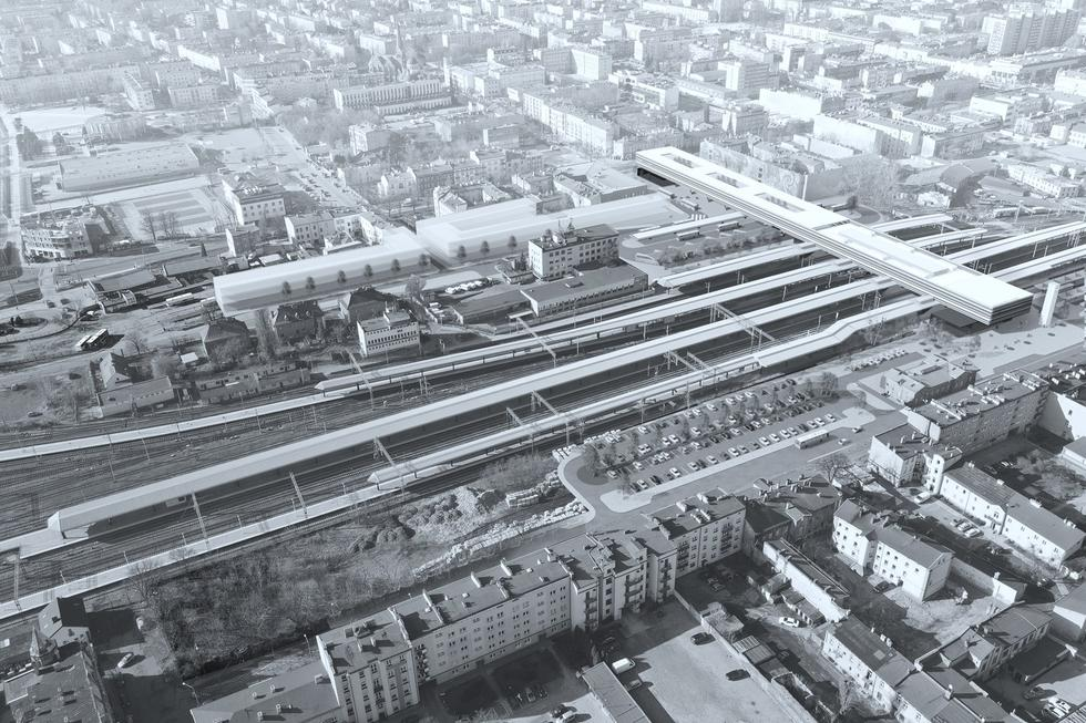 Nowy dworzec Częstochowa Główna