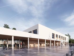 Plus3 Architekci projektują pierwsze liceum w historii Wesołej