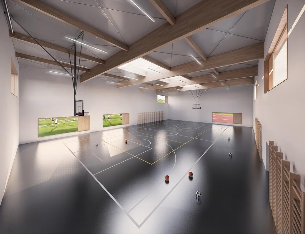 Liceum w Wesołej projektu plus3-architekci