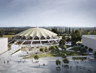 Hala Arena w Poznaniu według CDF Architekci