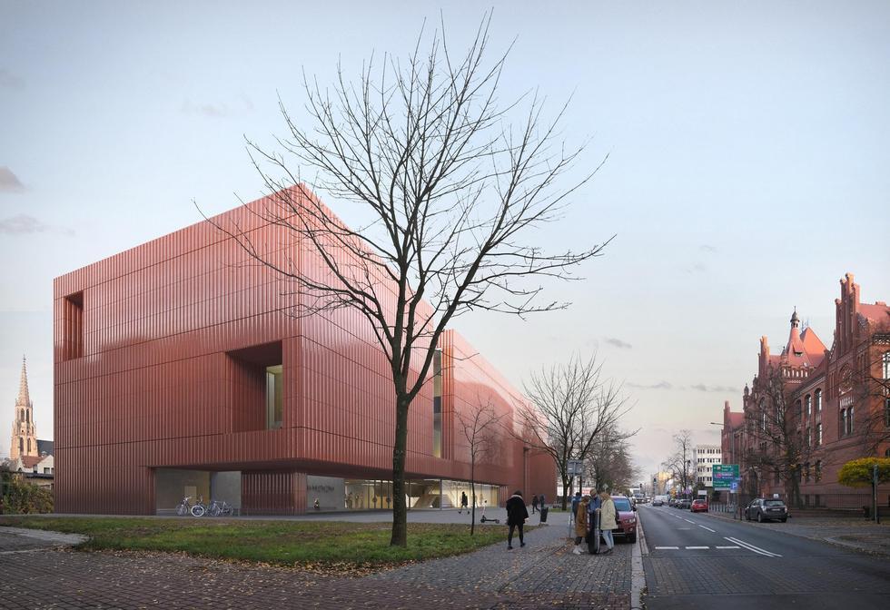 Cztery pomysły na Akademię Muzyczną w Katowicach: SLAS, Konior, MOC i JEMS Architekci