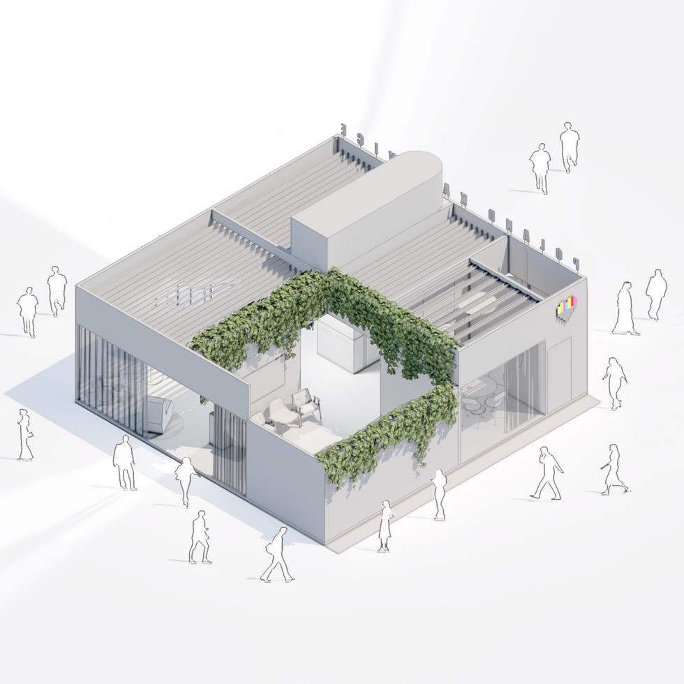 Światowe Forum Miejskie 2020: pawilon Katowic na Światowe Forum Miejskie 2020