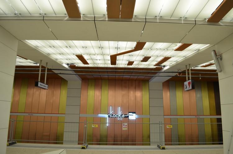 Nowe stacje metra projektu biura Kazimierski i Ryba