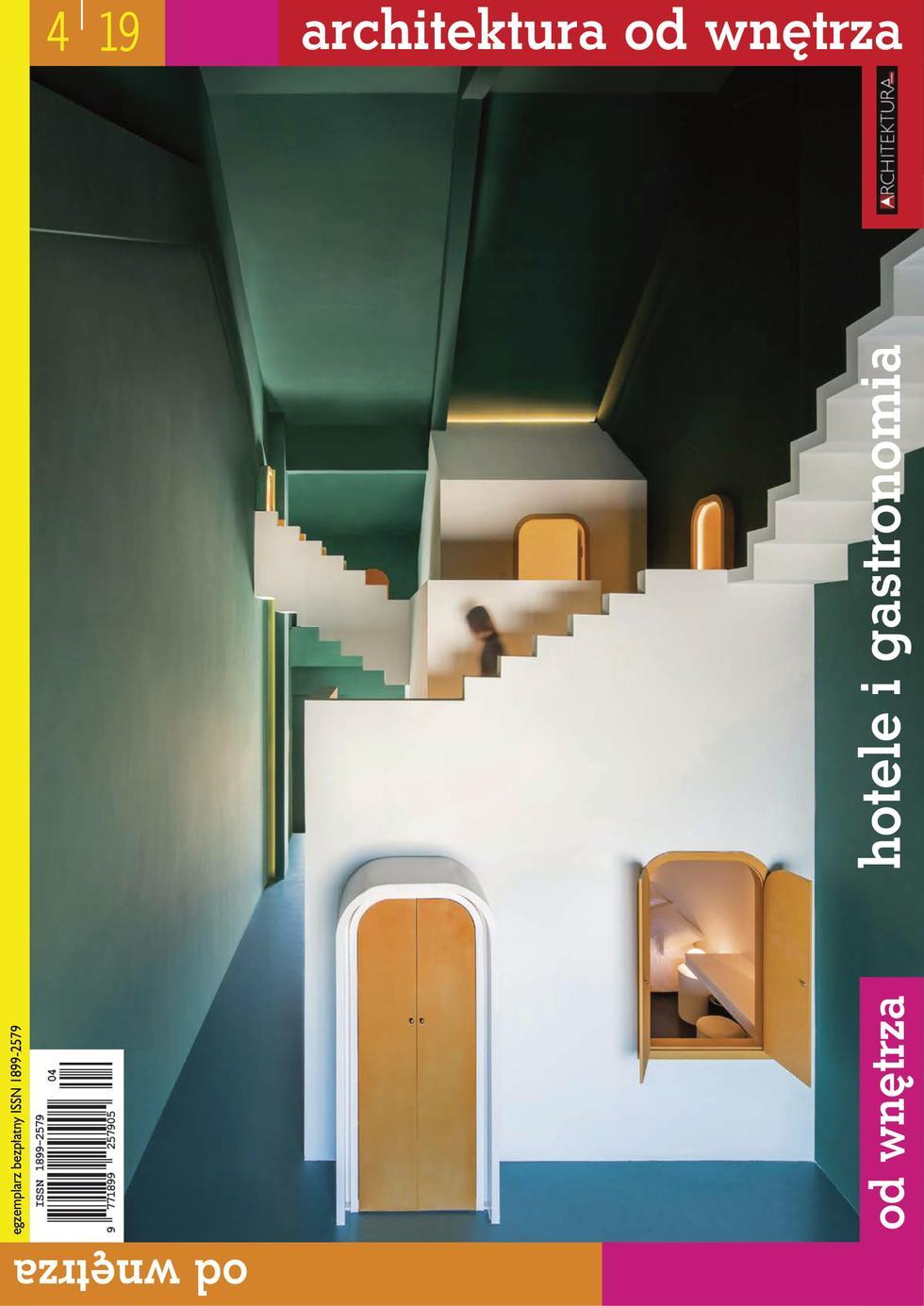 """""""Architektura od wnętrza"""" nr 4/2019. Pobierz bezpłatne e-wydanie!"""