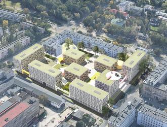 Mieszkanie Plus Warszawa. Wyniki konkursu na projekt osiedla przy Ratuszowej na warszawskiej Pradze [WIZUALIZACJE]