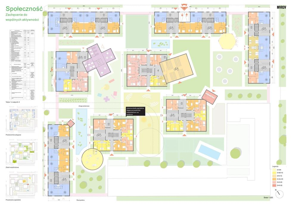 Mieszkanie plus – Ratuszowa. Wyniki konkursu na projekt osiedla na warszawskiej Pradze [WIZUALIZACJE]