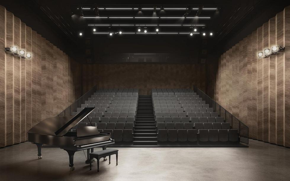 Siedziba Płockiej Orkiestry Symfonicznej według młodych architektów