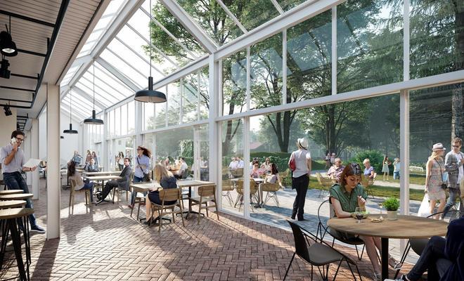 Ogrody Ulricha: WXCA rewitalizuje teren przed centrum handlowym Wola Park