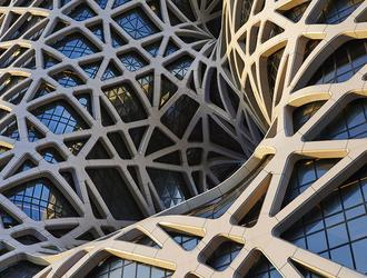 Egzoszkielety w architekturze: projekt konstrukcji hotelu Morpheus w Makao