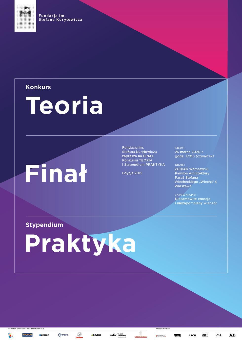 Konkurs TEORIA i stypendium PRAKTYKA 2019 – prezentacje finalistów