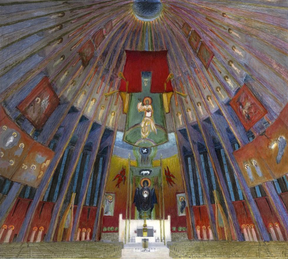 Świątynia Opatrzności Bożej: wyniki konkursu na projekt wystroju wnętrz Świątynia Opatrzności Bożej