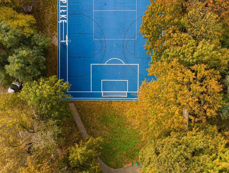 Ogród Jordanowski nr 1, Tu Wolno Grać w Piłkę