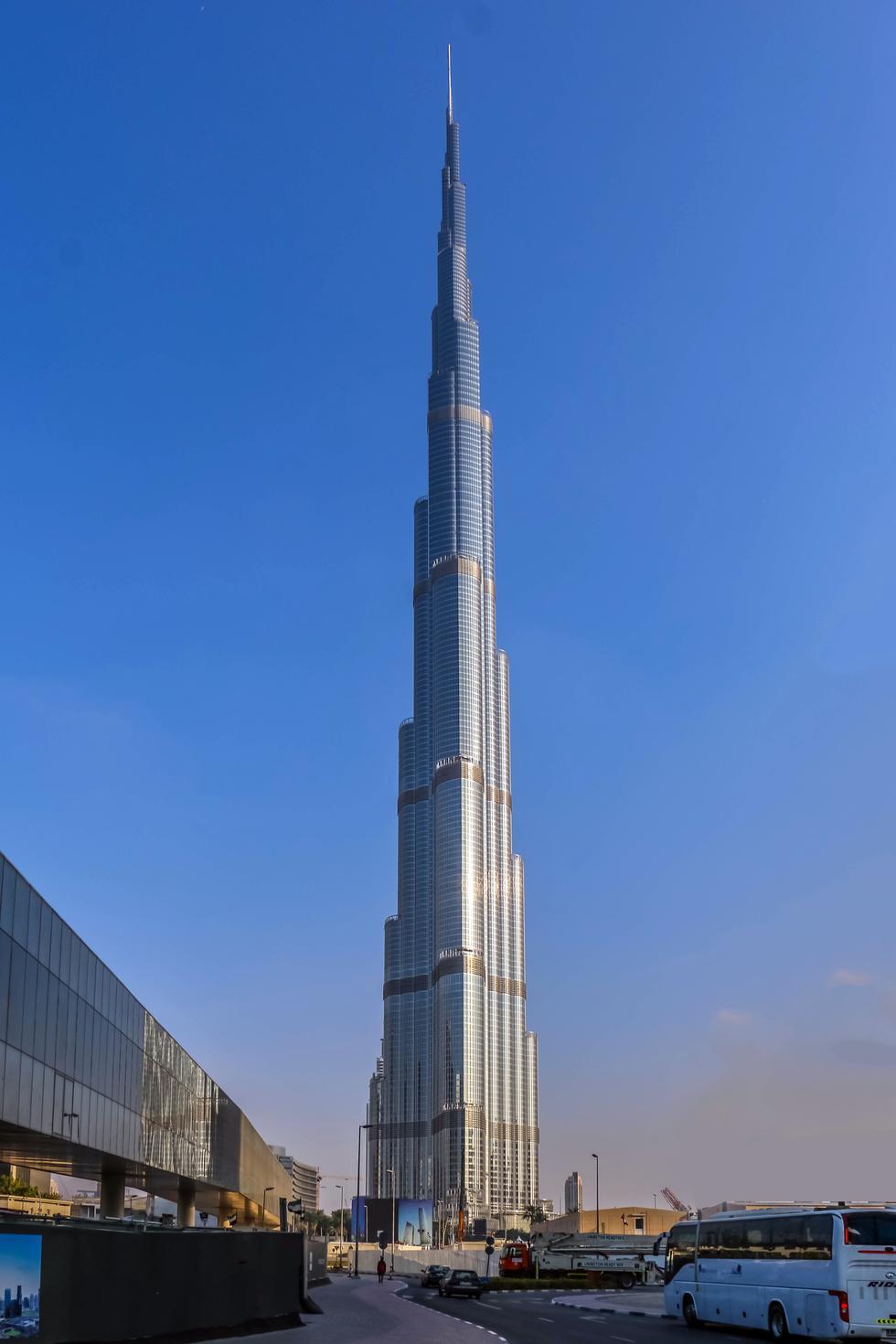 Najwyższy budynek świata – Burj Khalifa