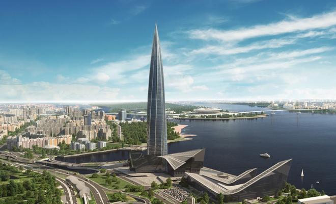 Najwyższy budynek Europy – Łachta Centr