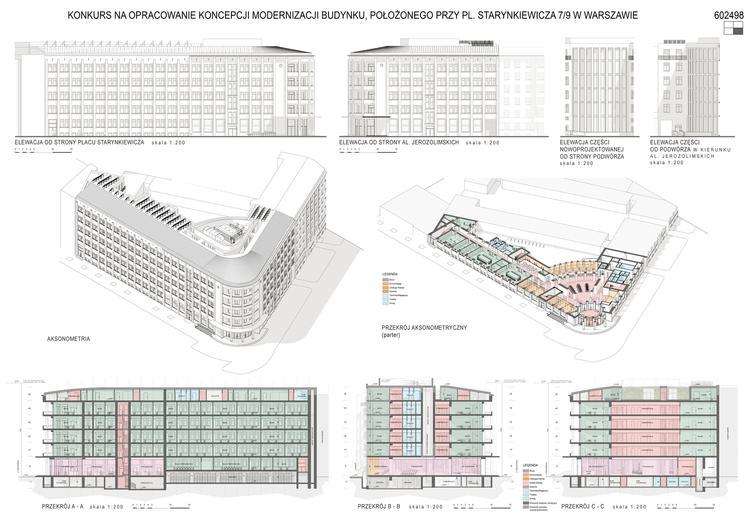 Dom Turystyczny w Warszawie od nowa: wyniki konkursu