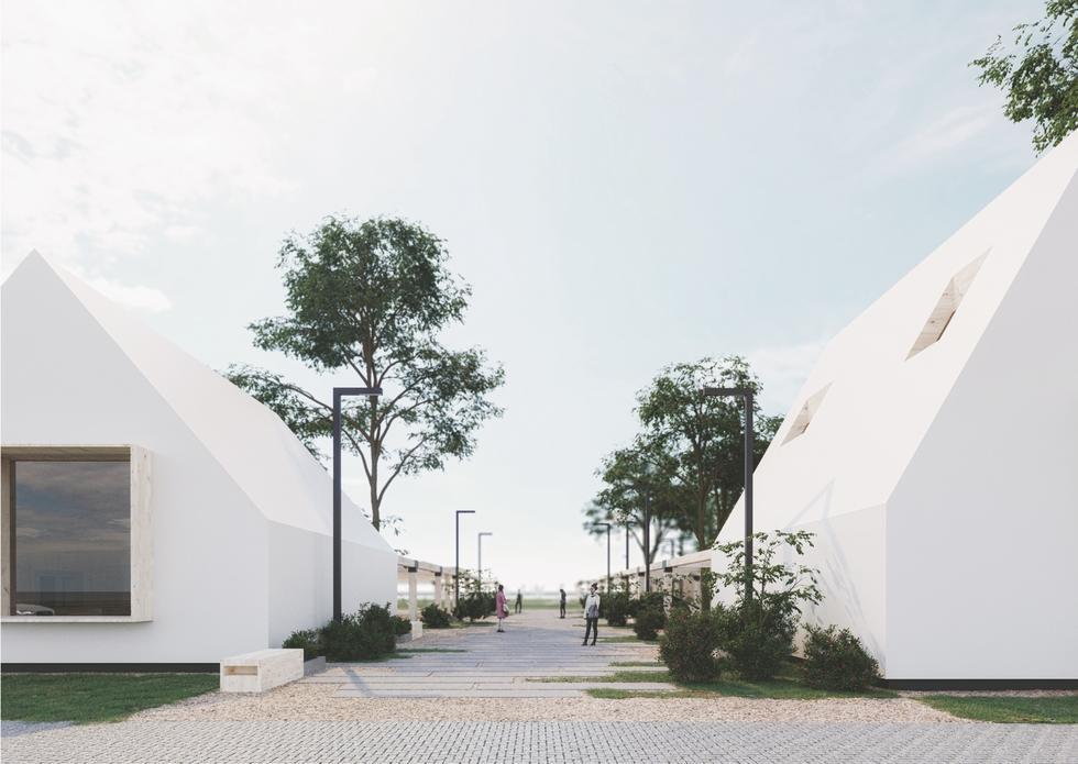 Nowe centrum lokalne w Chałupach: wyniki konkursu na zagospodarowanie przestrzeni nad Zatoką Pucką
