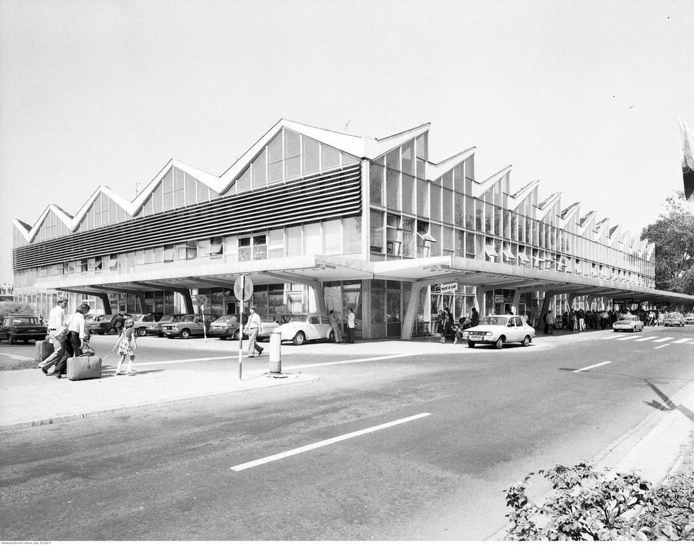 Dworzec lotniczy Okęcie projektu Dobrowolskich
