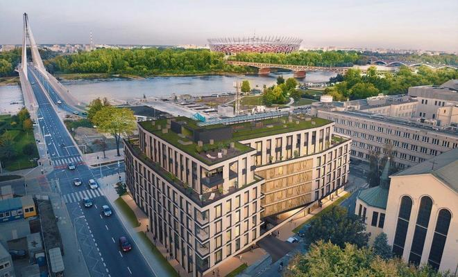 Flisac Apartamenty Powiśle projektu FS&P Arcus Mariusza Ścisło
