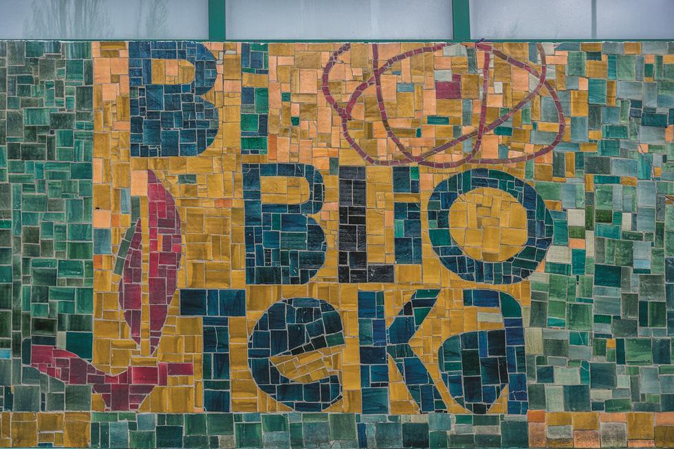 Mozaiki w Zielonej Górze