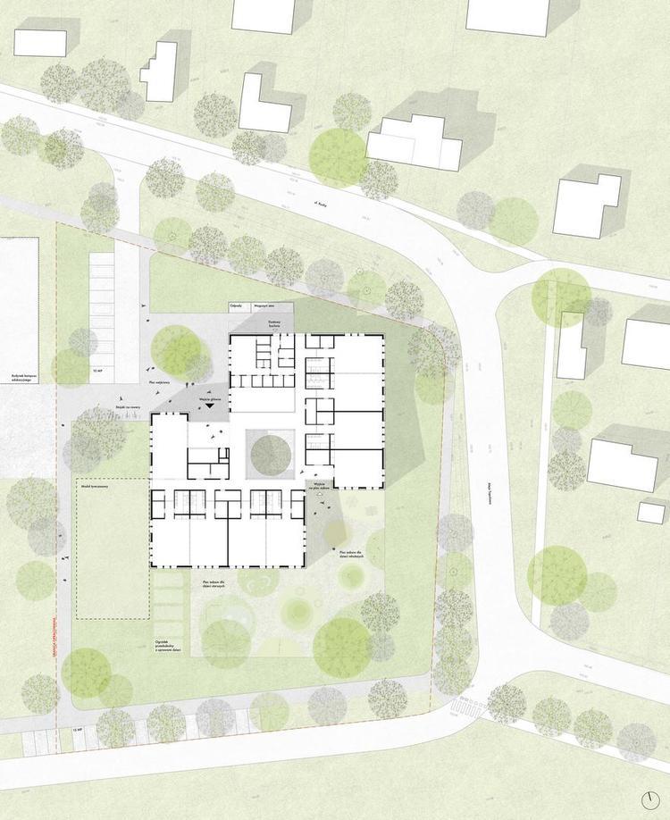 Przedszkole w Regułach projektu M.O.C. Architekci