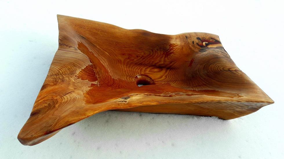 Drewniane umywalki