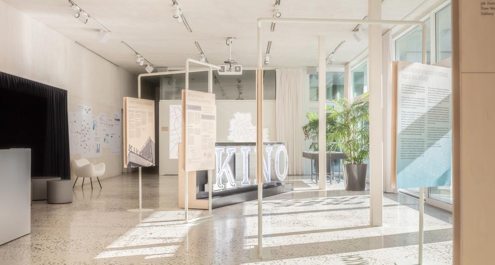 Kina w Warszawie: architektura stołecznych kin. Wystawa