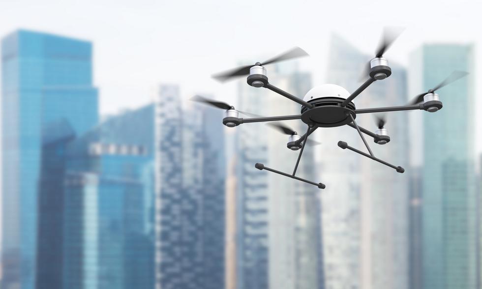 Drony dla architekta: drony w służbie architektury