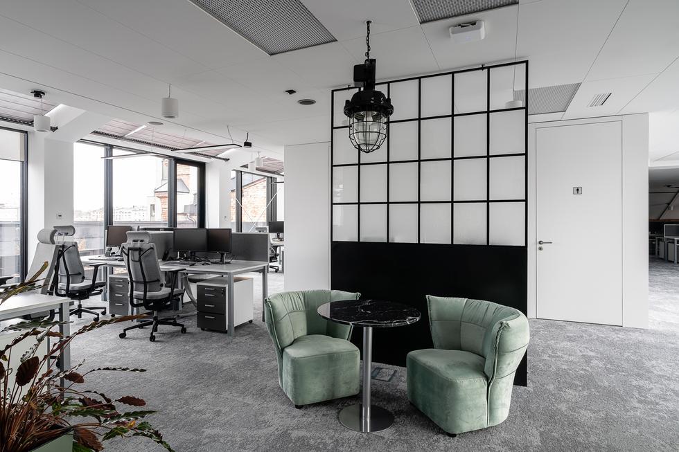 Biuro firmy Clariant w łódzkim Monopolis: projekt The Design Group