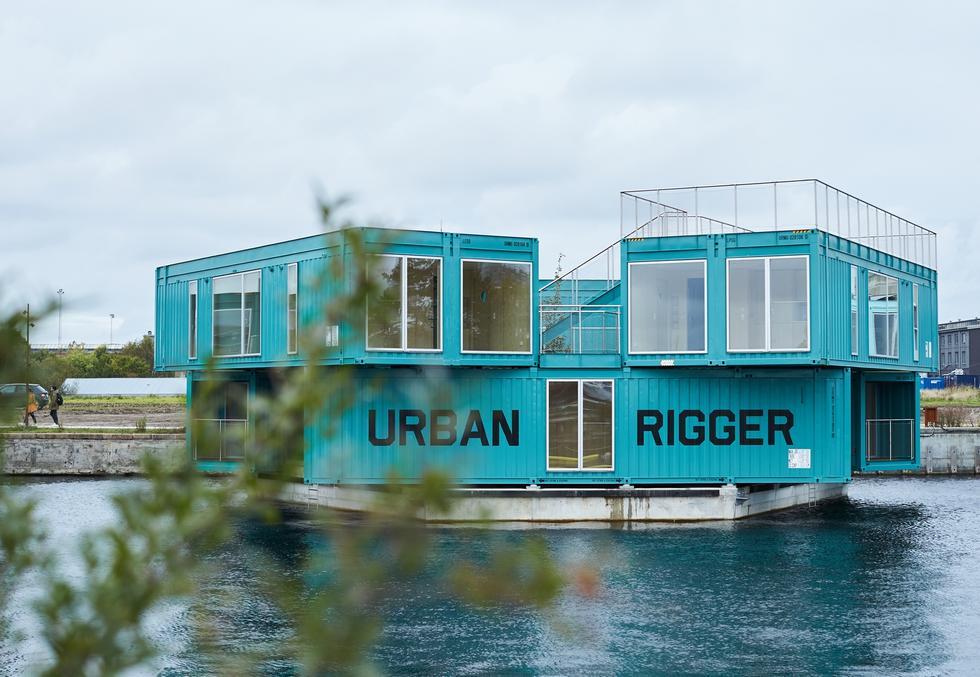 URBAN RIGGER – pływający akademik od  Bjarke Ingels Group