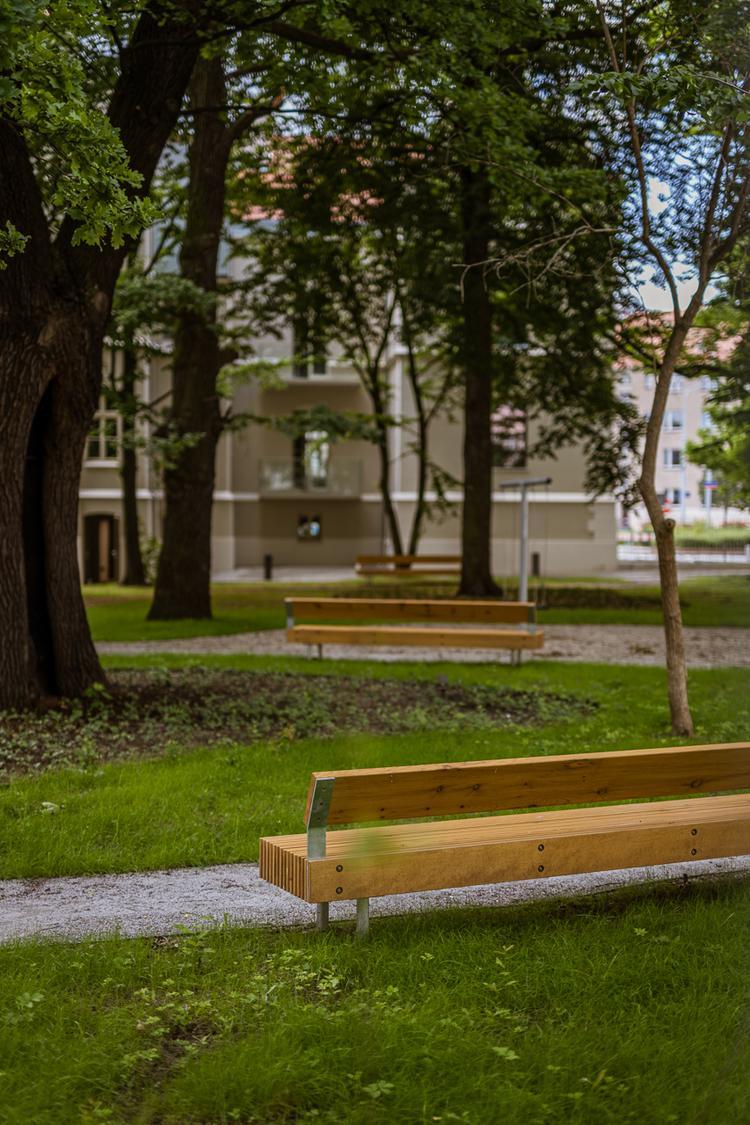 Ogrody Graua autorstwa Maćków Pracownia Projektowa