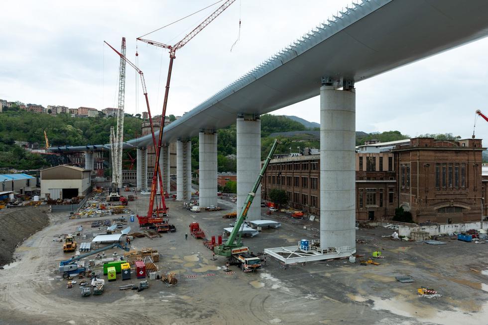 Wiadukt Morandi: nowy most Polcevera projektu Renzo Piano