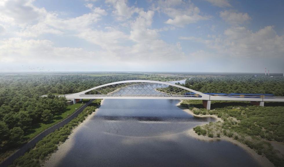 Most kolejowy w Kostrzynie