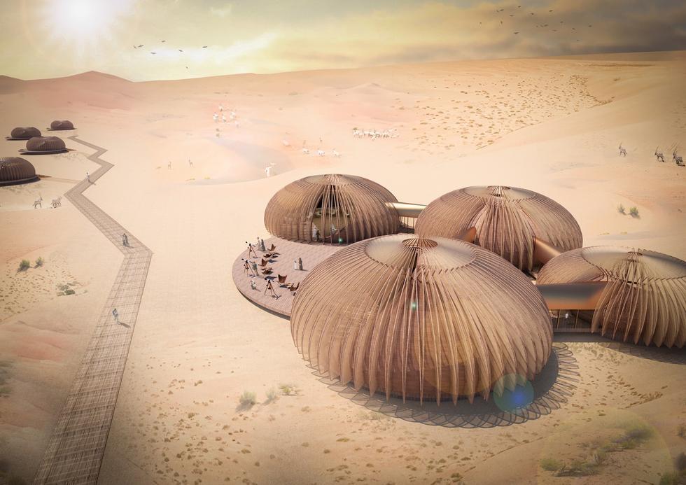 Polka nagrodzona w konkursie na projekt ekoschroniska w Abu Zabi
