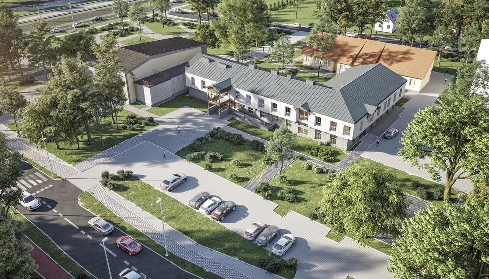 Przebudowa siedziby Urzędu Miasta Józefowa według Demiurg Project
