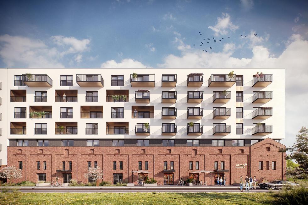 Apartamenty Atmo we Wrocławiu od Maćków Pracownia Projektowa