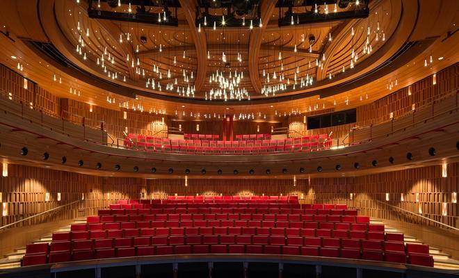 Drewno w salach koncertowych: przegląd realizacji