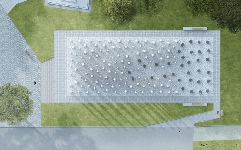 Monument Pamięci w Lesie Szpęgawskim autorstwa Katarzyny Ephraim