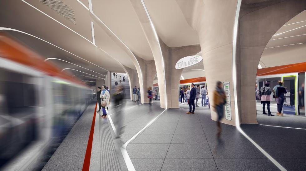 Nowa stacja metra. Londyn dla Moskwy