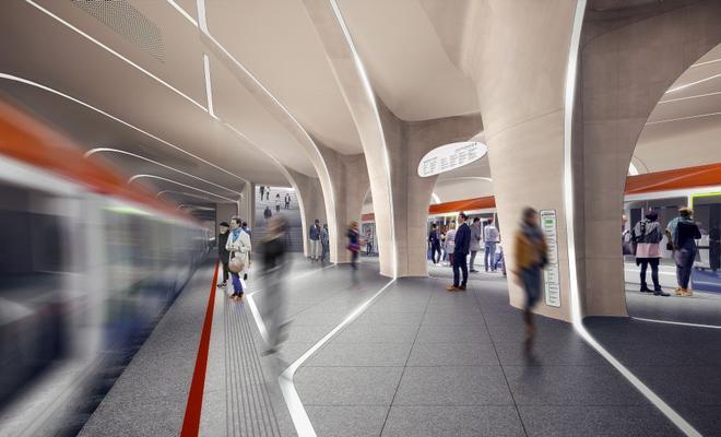 Nowa stacja moskiewskiego metra od Zaha Hadid Architects