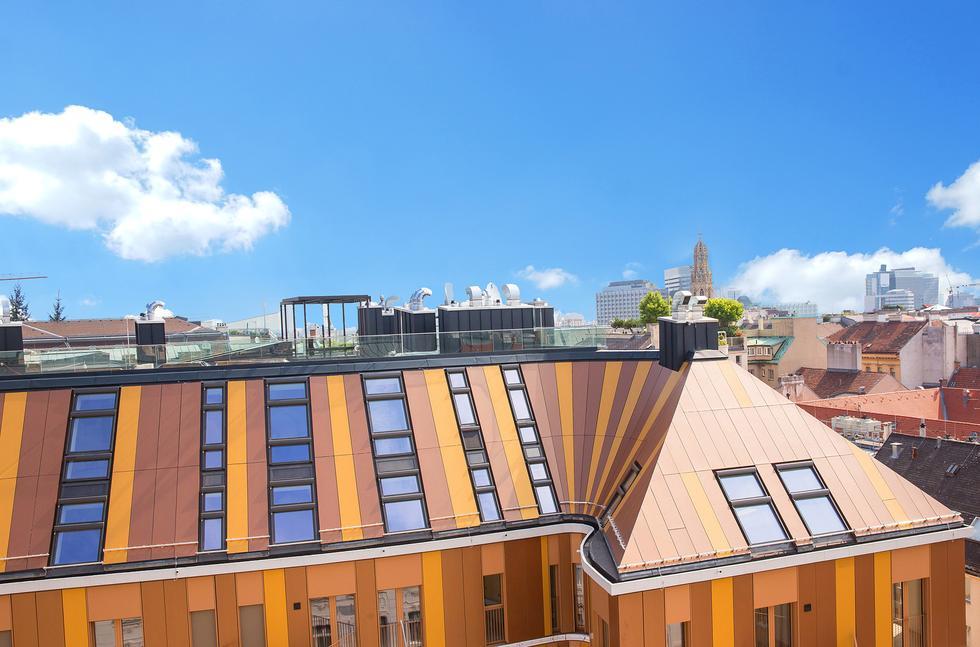 Budynek N°10: penthouse w centrum Wiednia