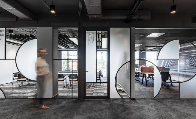 Nowe biuro firmy Visma Software projektu The Design Group