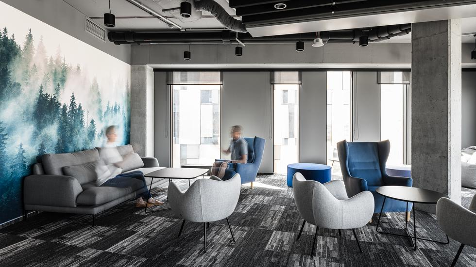 Nowe biuro Visma Software projektu The Design Group