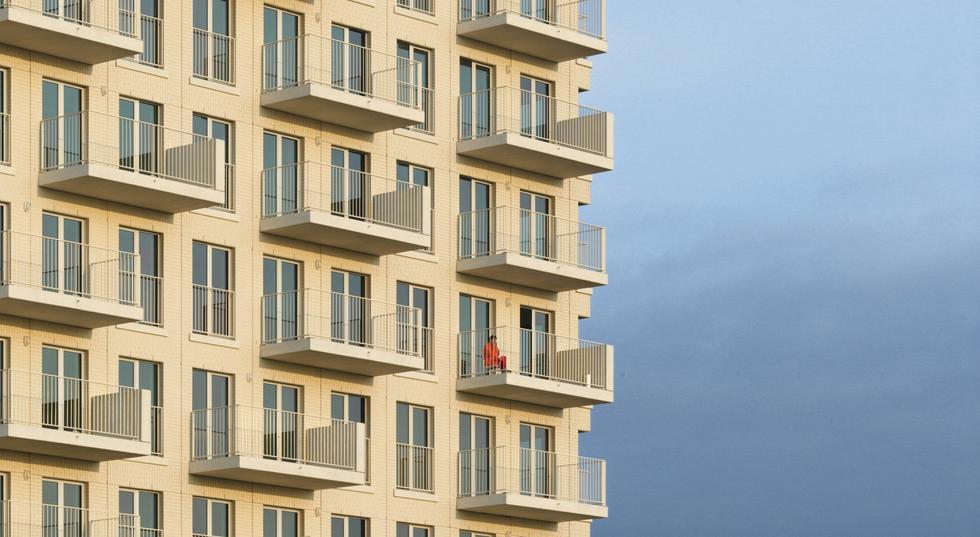 De Lichttoren: klinkierowa wieża w Antwerpii