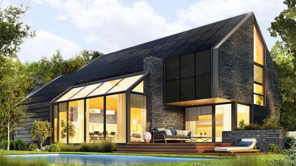 Dom przyszłości z dachem solarnym SunRoof: konkurs dla architektów i studentów