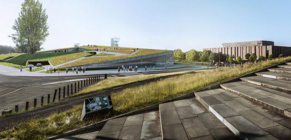 Parking w Strefie Kultury: Katowice rozstrzygnęły konkurs na wielopoziomowy parking w Strefie Kultury