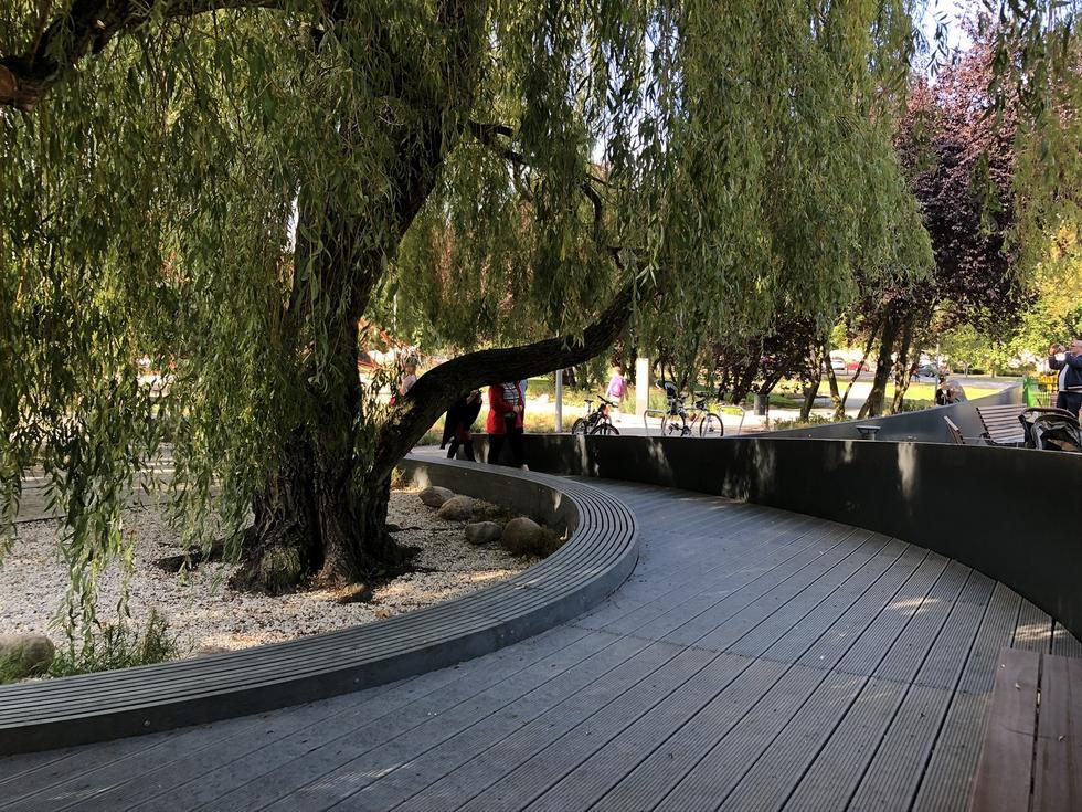 Park Centralny w Gdyni projektu Arch-Deco